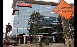 El fiscal anticorrupción Reynaldo Abia dirigió el viernes una diligencia en las oficinas de Odebrecht en San Isidro, Lima. (Foto: Reuters)