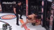 Peruano Gastón Bolaños debutó en Bellator con victoria por TKO