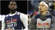 All Star Game 2017: Este vs. Oeste con LeBron y Curry