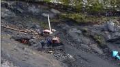 La Libertad: un muerto y tres heridos en derrumbe de mina