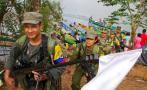 Concluye llegada de guerrilleros de las FARC a zonas de desarme