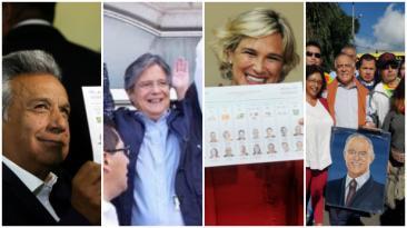 Ecuador: Así votaron los principales candidatos presidenciales