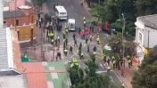 Bogotá: Explosión cerca de Plaza de Toros deja 1 policía muerto