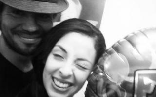Andrea Luna festejó su cumpleaños junto a Pietro Sibille