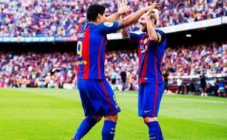 Barcelona: Lionel Messi anotó tras asistencia de Luis Suárez