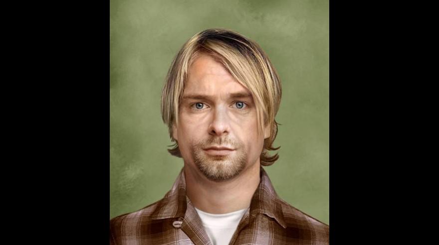 Kurt Cobain luciría así en la actualidad. (Foto: Sachs Media Group/ Internet)