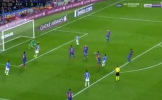 Barcelona: el gol del Leganés que asustó y silenció el Camp Nou