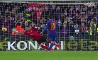 Lionel Messi salvó al Barcelona contra Leganés con este gol