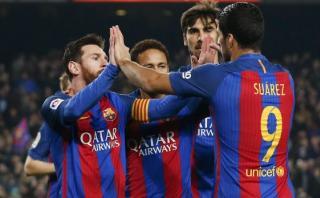 Barcelona ganó 2-1 a Leganés por la Liga española
