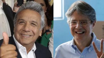 Ecuador: Moreno y Lasso se disputan la presidencia voto a voto