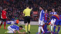 Barcelona: curiosa reacción de rival en penal cometido a Neymar