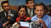 Verónika Mendoza coordinaba las actividades de Ollanta Humala