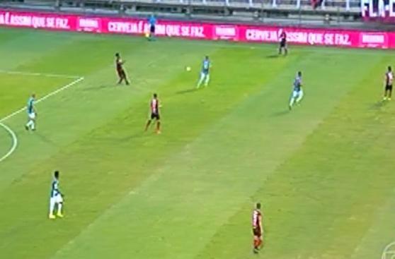 CUADROxCUADRO del gol de Guerrero tras asistencia de Trauco