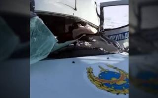 YouTube: policía arriesgó su vida para salvar a 18 niños