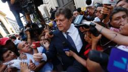 """""""No son mis ratas"""", dice Alan García sobre ex funcionarios"""
