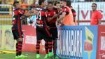 Con Guerrero y Trauco: las imágenes de la goleada de Flamengo - Noticias de