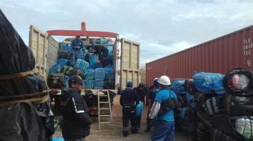 Puno: incautan 3.360 cartuchos de dinamita de contrabando