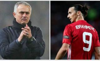Zlatan Ibrahimovic recibió elogios de Mourinho por sus goles