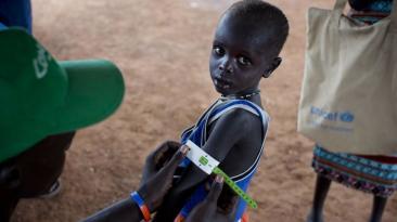 """Sudán del Sur se declara en hambruna """"causada por el hombre"""""""