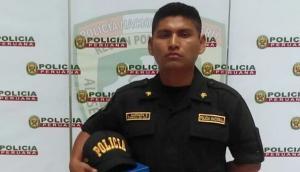 PNP distingue al policía que abatió a asesino de Independencia