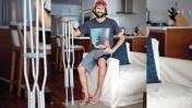 """Gabriel Villarán tras lesión: """"Un error y el mar no te perdona"""""""