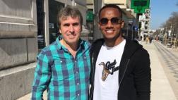 Selección peruana: André Carrillo se reunió con Néstor Bonillo
