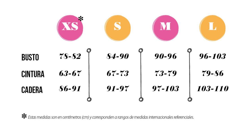 c14b82bb79a Hay tablas de medidas internacionales de ropa pero son referenciales porque  cada marca define trabaja con