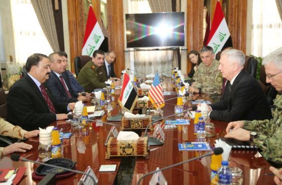 """Estados Unidos a Iraq: """"No estamos aquí por su petróleo"""""""