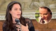 Angelina Jolie sorprende al comer insectos durante entrevista