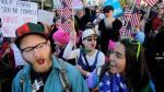 """""""¡No es mi presidente!"""": el grito de miles contra Donald Trump - Noticias de donald trump"""