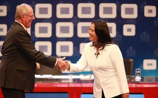 PPK y Keiko Fujimori se disputaron la Presidencia en la última elección. Ambos pasaron a la segunda vuelta. El economista ganó los comicios por un margen mínimo. (Foto: Lino Chipana/ Archivo El Comercio)