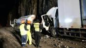Carretera Central: caída de huaico dejó 2 muertos en Huarochirí