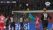 Atlético: Saúl marcó ante Leverkusen con golazo al ángulo