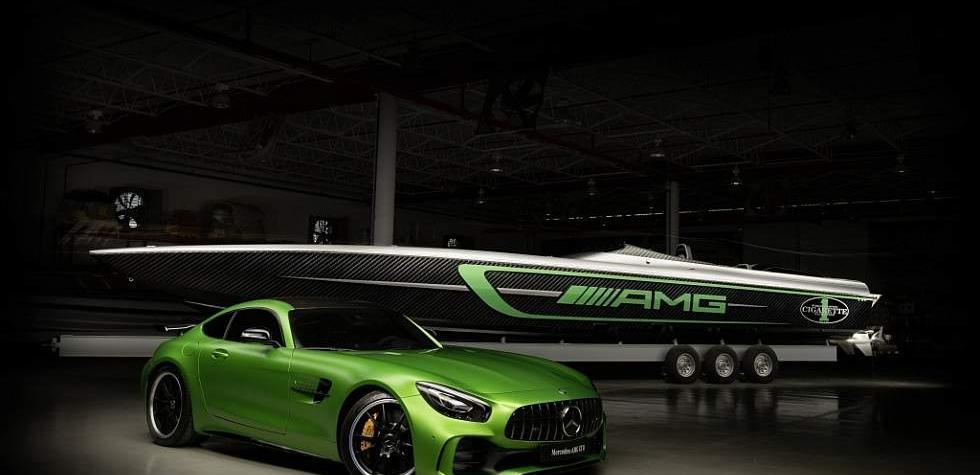 Conoce al nuevo yate inspirado en Mercedes-Benz