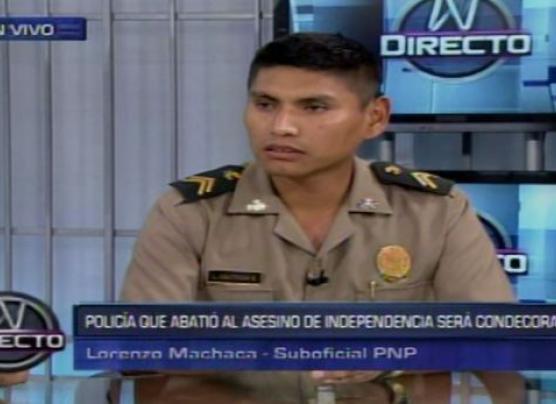 Independencia: amenazan por internet a PNP que abatió a asesino