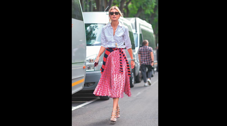 Streetstyle: 7 formas de llevar una falda plisada