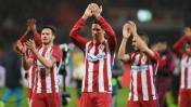 Atlético Madrid venció 4-2 a Leverkusen por la Champions League