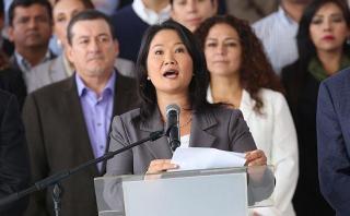 Keiko Fujimori: abogado dice que es extraño que la investiguen