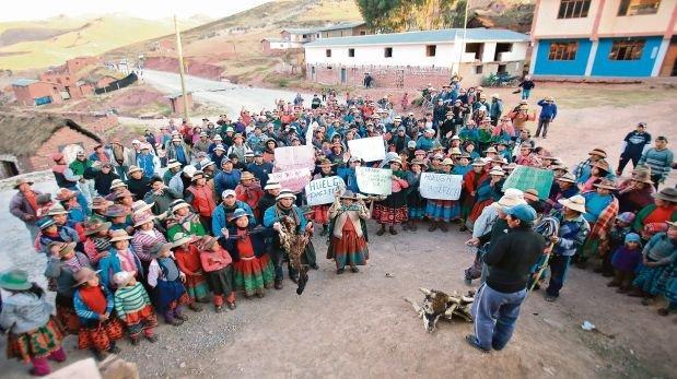 El conflicto social entorno al proyecto minero Las Bambas aún se mantiene latente. (Foto: Lino Chipana / El Comercio).