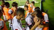 La alegría por el gol de Cueva y el festejo del '10' [FOTOS]