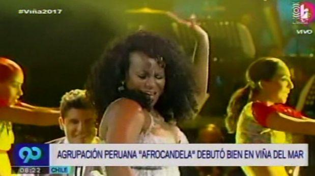 Afrocandela se lució en la Quinta Vergara. (Video: Latina)
