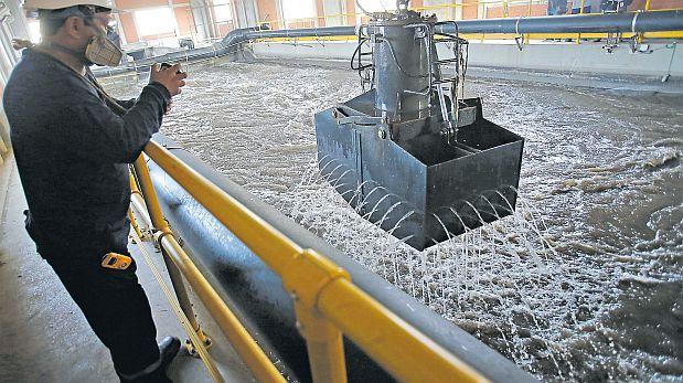 La Chira puede tratar 11m3 de desagüe por segundo. (Dante Piaggio / El Comercio)