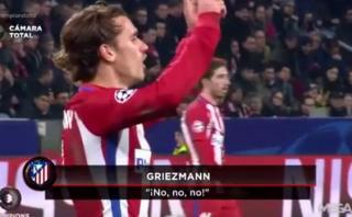 Griezmann cuestionó un cambio de Simeone y esto dijo el 'Cholo'