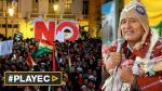 Marchan a favor y en contra de que Evo siga en el poder - Noticias de hector canteros