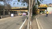 Puente Dueñas: Realizan obras por aumento del caudal del Rímac