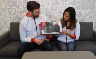 YouTube: el 'unboxing' oficial de Nintendo Switch [VIDEO]