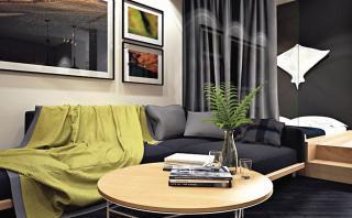 Minidepartamento: Calidez y estilo en solo 42m2