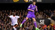 Cristiano Ronaldo marcó ante Valencia con tremendo cabezazo