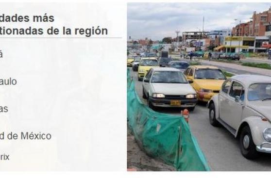 [BBC] Los países y ciudades con el tráfico más congestionado