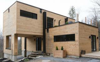 Esta lujosa casa fue construida con contenedores de carga